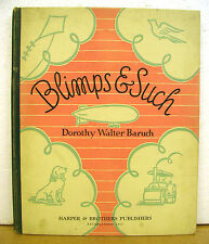 Blimps & Such - Dorothy Walter Baruch & Pictures by Elizabeth Tyler Wolcott 1932
