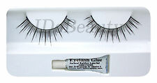 FALSE EYELASHES EYELASH LIGHT NATURAL  LASH + GLUE