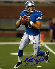 "Matthew Stafford quarterback NFL 8""x 10"" Great Signed Color PHOTO REPRINT"