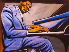 OSCAR PETERSON PRINT poster jazz piano night train cd cole porter songbook live