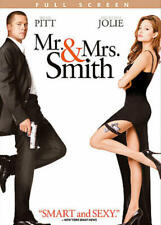 Mr. and Mrs. Smith (DVD, 2005, Full Screen) NEW