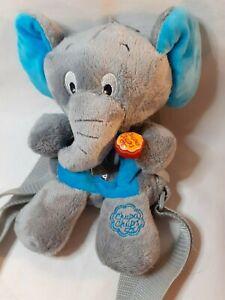 Chupa Chups Lolly Grey Elephant Plush Rucksack Backpack Bag
