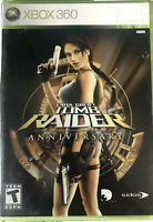 Lara Croft: Tomb Raider Anniversary XBOX 360/Xbox One/Series X Game Rare 1