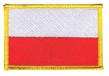 Polen Aufnäher Flaggen Fahnen Patch Aufbügler 8x6cm