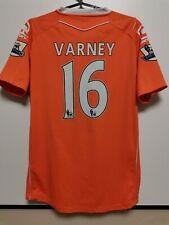 SIZE M BLACKPOOL 2010-2011 HOME FOOTBALL SHIRT JERSEY VARNEY #16