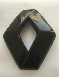 RENAULT CLIO 4 IV Megane 3 BLACK FRONT GRILLE BUMPER DIAMOND BADGE 628909470R