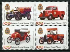 Uruguay 2018 MNH Automovil Club 100 Years Ford 4v Block Automobiles Cars Stamps