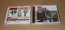 BB BRUNES - NICO TEEN LOVE + BLONDE COMME MOI LIMITED - LOT 2 CDs NEUFS