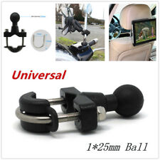 1pc Motorcycle Adapter Bracket Ball Handlebar Phone Ipad Cylinder Pump Cap Mount