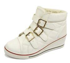 Calzado de mujer de color principal blanco sintético talla 38