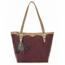 American West Women's Birds of a Feather Purse - Tan 4402576