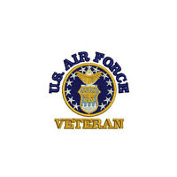 USAF US AIR FORCE Veteran Embroidered Polo Shirt