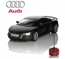 Official RC Radio Remote Controlled Car Scale 1.24 Audi R8 GT Black Gift Fun