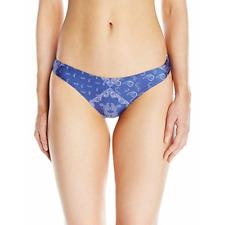 GUESS Bandana Blue Brief Bikini Bottom Size Small