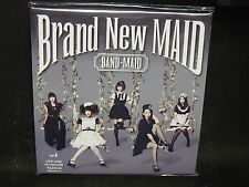 BAND-MAID Brand New Maid JAPAN CD + DVD (TYPE A) Gacharic Spin Scandal