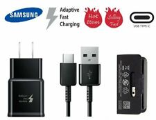 OEM Samsung Fast USB Wall Charger For Galaxy S9 S9+ S8/S8 Plus &USB Type-C Cable