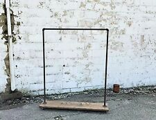 Wood Clothing Rack Garment Industrial