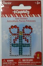 Wrapped Gift   Christmas Gem Sticker  Darice