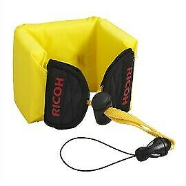 Ricoh Floating Wrist Strap Yellow For Waterproof Cameras Quick Release Buckle