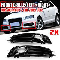 Pour Audi A3 8P S-LINE 2009-2012 avant Inférieur Pare-Choc Feu Grille