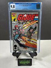 GI JOE: A REAL AMERICAN HERO #47 CGC GRADED 9.8 1ST APP BEACHHEAD WET SUIT 1986