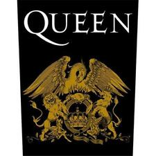 OFFICIAL LICENSED - QUEEN - CREST BACK PATCH ROCK FREDDIE MERCURY MAY