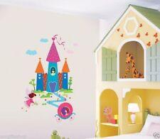Fairy Tales Castle Wall Decal Room Sticker Bedroom Girl Boy Nursery Room Decor
