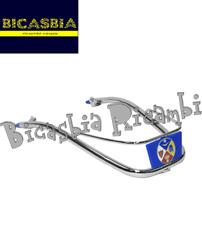 0468-  PARAURTI PARAFANGO ANTERIORE BLU VESPA 150 160 GS - 180 SS - 150 GL