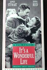 Its a Wonderful Life (VHS, 1993, Uncut Slipsleeve)