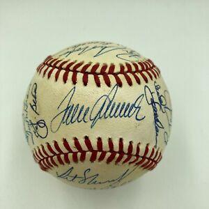 1969 New York Mets WS Champs Team Signed Baseball Tom Seaver Nolan Ryan JSA COA