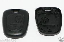 Peugeot 106 206 207 306 307 Citroën Clé Boîtier Key remote touches Couvercle