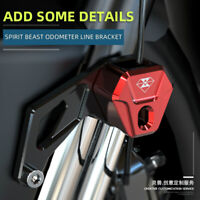 Spirit Beast Motorcycle Wire Bracket Brake Instrument Line Cable Clip Clamps