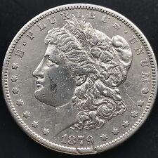 USA 1879 S Morgan Dollar San Francisco Silber US Silver Dollar 5064