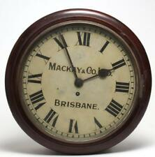 Victorian Pendulum Wall Clock by Mackay & Co. Lot 243
