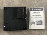 Nintendo Gameboy Gamecube Player Adaptor w/ Disc Manual Case! TESTED!