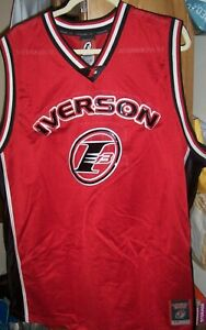 Reebok Men's Sz 2XL ALLEN IVERSON Limited Edition Mesh Basketball Jersey ~ Fancy