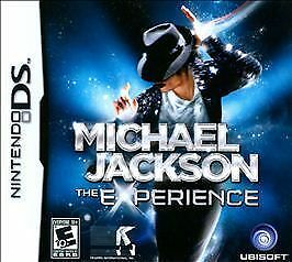 MICHAEL JACKSON THE EXPERIENCE FOR NINTENDO DS NEW FACTORY SEALED!