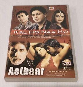 Kal Ho Naa Ho / Aetbaar DVD 2 Movies Hindi With English Subtitles NTSC