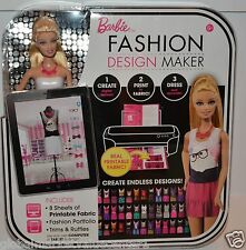 Barbie fashion design maker crate print dress endless designs fashion portfolio