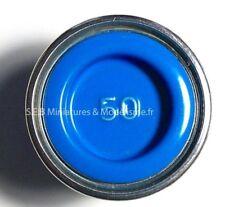 PETIT POT DE PEINTURE EMAIL COLOR 14ML BLEU CLAIR GLOSS N°50 REVELL
