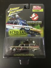 JOHNNY LIGHTNING - Movie TV Diecast Car - GHOSTBUSTERS Ecto 1A - Chrome version
