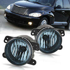 for 05-10 Chrysler 300 3.5L / 06-09 PT Cruiser Smoke Fog Light Front Bumper Lamp