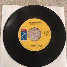 Johnnie Taylor 45rpm Vintage Vinyl Record