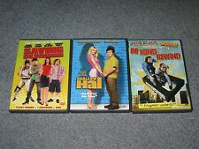 "3 ""Jack Black"" Dvd's.Saving Silverman / Shallow Hal / Be Kind Rewind!"