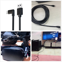 For Oculus Quest 2 Link 4M USB 3.1 Cable Data Line Type C Cable 90 Degree Useful