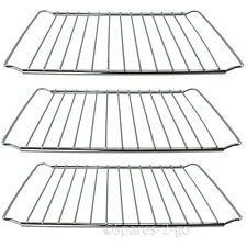 3 x Extendable Oven Grill Chrome Shelf Rack Fits BEKO Cooker 345 - 565mm