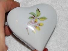 Chamart Limoges Porcelain Gift Trinket Box Precious handpainted
