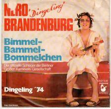 """<3719-35> 7"""" Single: Nero """"Dingeling"""" Brandenburg - Bimmel-Bommel-Bommelchen"""