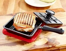 Cast Iron Panini Sandwich Press New
