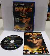 Console Game SONY Playstation 2 PS2 PSX2 PAL ITALIANO COMMANDOS 2 MEN OF COURAGE